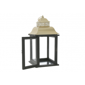 Drewniana latarnia LEVI GOLD  HTO2062