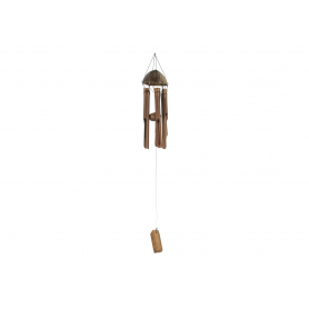 Drewniany gong 20cm MT0516