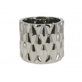 Ceramiczna doniczka LORELAI SILVER  HTTS6640