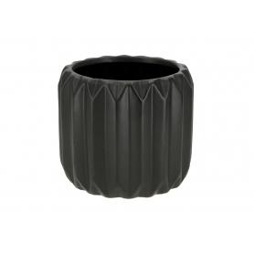 Ceramiczna doniczka BABETTE BLACK  HTTS6565