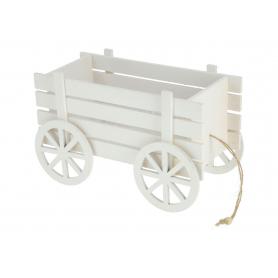 Drewniany wózek dekoracyjny HY3358