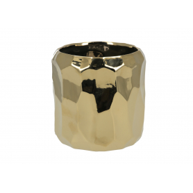 Ceramiczna doniczka BABETTE GOLD HTTS6680