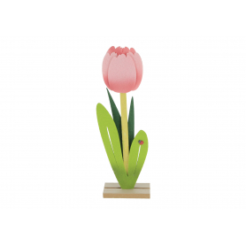 Dekoracja filcowa Tulipan. HY3729