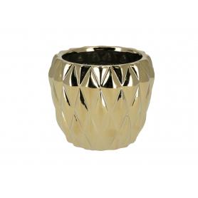 Ceramiczna doniczka BASILE GOLD  HTTS6840