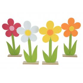 Dekoracja filcowa Kwiatek HY3636