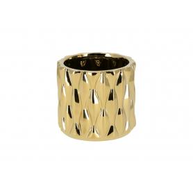 Ceramiczna doniczka LORELAI GOLD HTTS6619