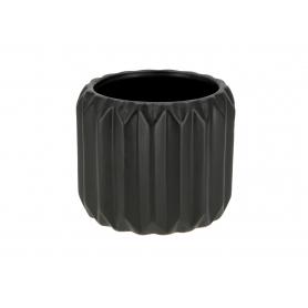 Ceramiczna doniczka BABETTE BLACK HTTS6572