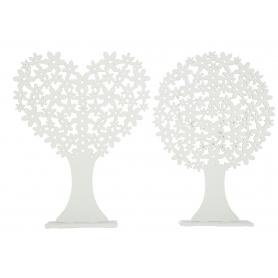 Drewniane drzewko  white  HY3769