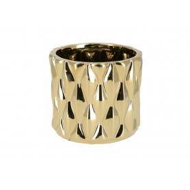 Ceramiczna doniczka LORELAI GOLD  HTTS6602