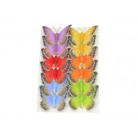 Motylek na klips 8cm 39M