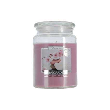 Świeca zapachowa z wieczkiem OGRÓD SPA  SND99-254