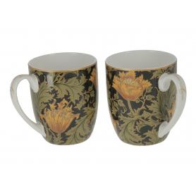 Ceramiczny kpl 2 kubków William Morrris 834-0202