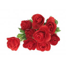 Kwiaty sztuczne bukiet róże