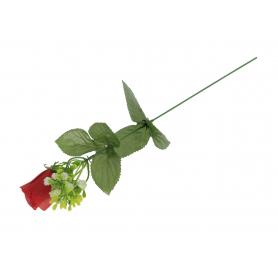 Róża gałązka z gipsówką 53904 595-1