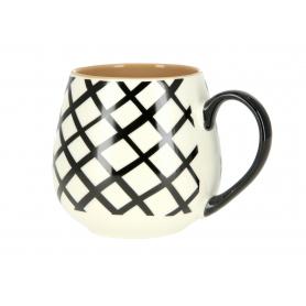Kubek ceramiczny 400ml Geo HTPT7746