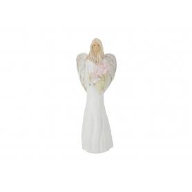 Ceramiczny anioł stojący Zosia 08012