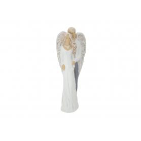 Ceramiczny anioł stojący Duet 08045
