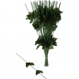 ŁODYGA ZIELONA CHRYZANTEMY (stelaże, łodygi)-kwiaty sztuczne