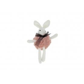 Pluszowy brelok wielkanocny królik HY4364