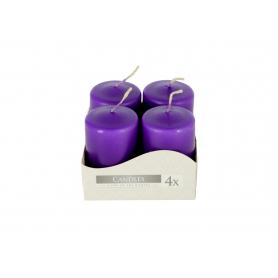 Świeca wotywna fioletowa SW4060-040