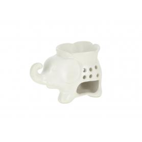 Ceramiczny kominek- słoń