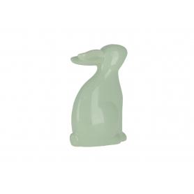 Ceramiczna figurka zając wielkanocny 742119  DJ7421-19A