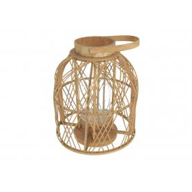 Lampion bambusowy 32x38cm 19049   FH1904-9