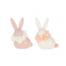 Ceramiczna figurka królik wielkanocny 947803  XIA9478-03