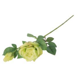 Róża gumowa gałązka 65cm 55325-02  GK333
