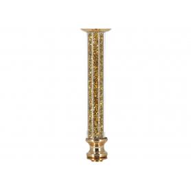 Złoty świecznik Chantal HTRD6909