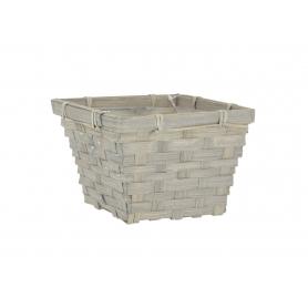 Wiklinowy koszyk bambusowy 19199GR