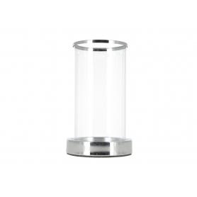 Świecznik kryształowy silver 7975L