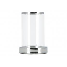 Świecznik kryształowy silver 7975M