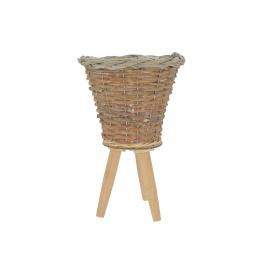 Drewniany kwietnik  8017C