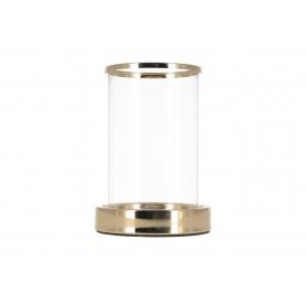 Świecznik kryształowy gold 07975M