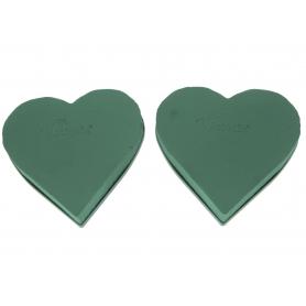 Gąbka florystyczna Serce 30 cm 2512