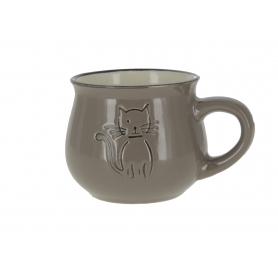 Ceramiczny kubek z kotkiem KK5058