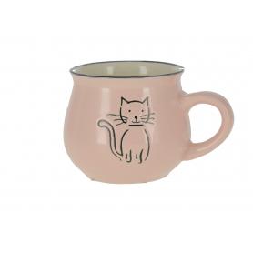 Ceramiczny kubek z kotkiem KK5056