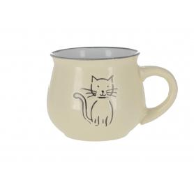 Ceramiczny kubek z kotkiem KK5055