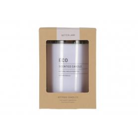 Świeca zapachowa Eco w szkle duża 3483lawendowy
