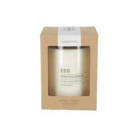 Świeca zapachowa Eco w szkle duża 3483biała