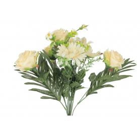 Bukiet Róż i Gerberów z dodatkami 55313