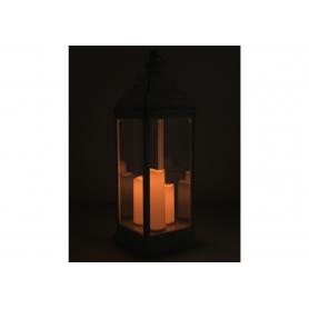 Latarnia lampion  3 świece Led 1191WH