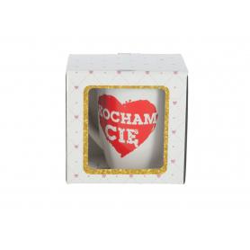 Walentynkowy kubek baryłka 300ml 93890