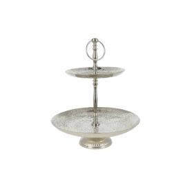 Patera dekoracyjna 35cm silver 42736S