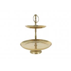Patera dekoracyjna 35cm gold 42736G