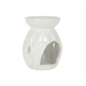 Ceramiczy kominek biały HTTP7265
