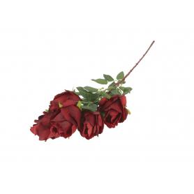 Kwiaty sztuczne krzak róży gałązka