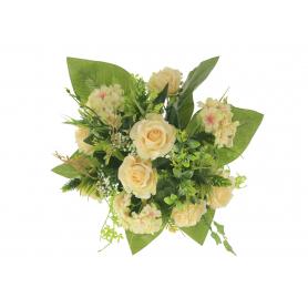 Bukiet Róż i Hortensji z dodatkami