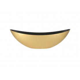 Podstawka osłonka dekoracyjna złota 29356